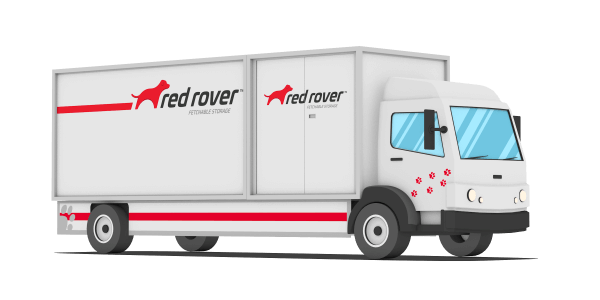 RedRover configuration of truck and containers